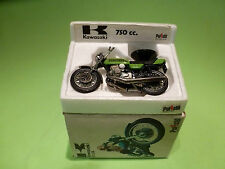 POLISTIL POLITOYS GT 54 KAWASAKI  750 - 1:24  - VERY GOOD CONDITION - IN BOX