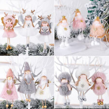 Christmas Angel Plush Doll Pendant Xmas Tree Hanging Decoration Party Ornaments