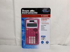 Texas Instruments Ti-30x IIS 2-line Scientific Calculator Solar & Battery- PINK!