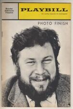 "Peter Ustinov  ""Photo Finish""   Playbill  1963   Broadway   Dennis King"