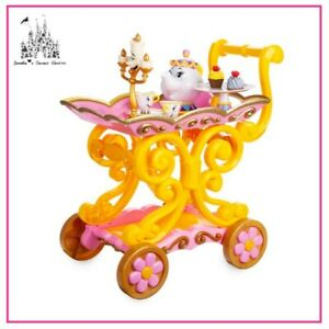 DISNEY BEAUTY AND THE BEAST BE OUR GUEST SINGING TEA CART PLAY SET NEW IN BOX