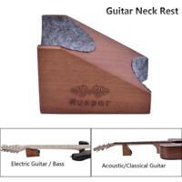 Guitar Neck Rest Support Stand String Instrument Work Mat Pad Luthier Setup Tool