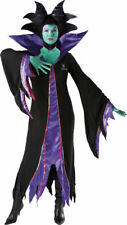 Maleficent Disney Licensed Adult Costume, Witch. Halloween. Size: Medium