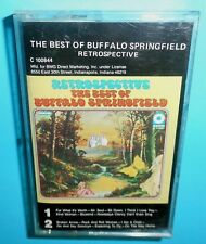 "Buffalo Springfield: ""Best of - Retrospective"" -ATCO Records Music Cassette -GUC"