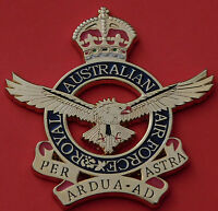 ROYAL AUSTRALIAN AIR FORCE KC LARGE SIZE FOR FRAMING DISPLAY 75MM HIGH RAAF WWII