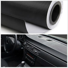 Luxury Car Interior Trim Panel 3D Carbon Fiber Wrap Sheet Film Sticker Vinyl DIY