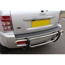 Jeep Grand Cherokee 2005-10 Rear Bumper Bar Protector Guard Stainless Steel