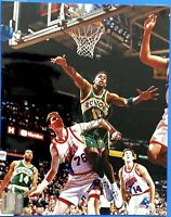 1994 KENDALL GILL AUTOGRAPHED 8x10 PHOTO SEATTLE SUPERSONICS NBA 1-OWNER