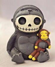 Furry Bones Black Kongo Gorilla Skeleton Animal Figurine Free S&H