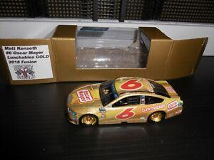 2018 Matt Kenseth #6 Oscar Mayer Lunchables GOLD Roush Racing 1/64 NASCAR Custom