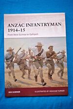 Anzac Infantryman 1914-15 - Sumner - Osprey Warrior #155