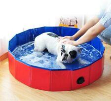 Blusea Large Foldable Dog Swimming Pool, Swimming Pool Bath, Non-Slip and Wear-R