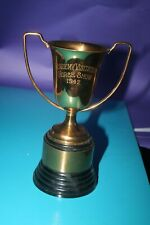 1942 Vintage Academy Visitation Horse Show Trophy Dodge 8 inches Brass Cup