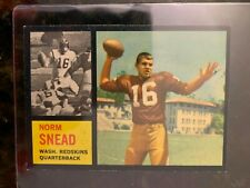 1962 Topps Football SP #164 NORM SNEAD ROOKIE......EX-MT++