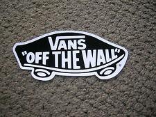 vintage vans shoes off the wall surfboard sticker surfing longboard skateboard