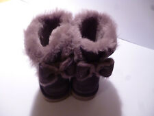 UGG Donna Naveah MINI bow boots 1012808 W/NHT TRAMONTO IN PELLE SCAMOSCIATA MISURA UK 4.5