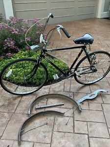 Rare Late 1950s Hercules Tourist Vintage 3-Speed Cruiser Bicycle ~ Original