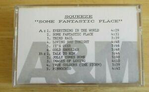 Squeeze advance cassette Some Fantastic Place, A & M Records, 6 & 5 tracks