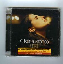 CD (NEW) CRISTINA BRANCO LIVE