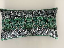 West Elm 1 Satin Rose Pattern Pillow Shams  Rectangle Sold Out