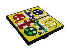 Pocket Travel Board Game Magnetic LUDO Folding Board 13 x 13 cm