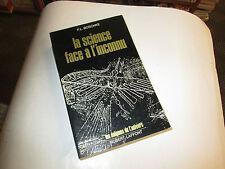 La Science face à l'inconnu. Traduit de l'allemand par André Muller.