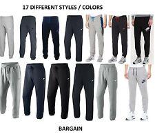 Mens Nike Fleece Joggers, Tracksuit Bottoms, Track Sweat Jogging Pants New