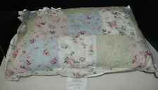 Simply Shabby Chic Throw Pillow Decor Bed Quilted NEW