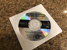 Need For Speed Underground Arcade Installation Disk 2 NFS Version 1.0.0 NFS