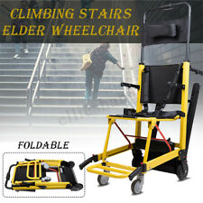 Stair Lifting Motorized Climbing Wheelchair Stair Lift Chair Elevator 100-240V