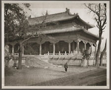 1920's CHINA GRAVURE PAGEANT OF PEKING DONALD MENNIE - THE YELLOW TEMPLE