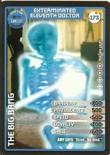 DR WHO MONSTER INVASION SET 2 EXTREME CARD: 173 EXTERMINATED ELEVENTH DOCTOR