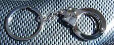 Chrome Alloy Metal Handcuff Keyring Key Ring Brand New