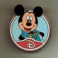 DISNEY PIN 88455: WDW - Mystery Collection - Circle Icon 'D' - Mickey Mouse