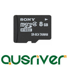 Genuine Sony Micro SD 8G 8GB microSD Micro SDHC Secure Digital Memory Card