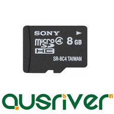 Genuine Sony Micro SD 8G 8GB microSD Micro SDHC Secure Digital Memory Card