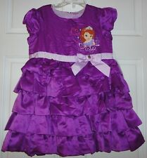 Disney Sofia the First Party Dress Girls - Size 7/8 - New with Tags