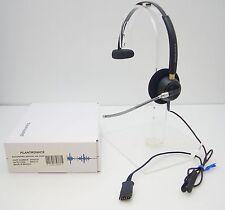 Plantronics EncorePro HW510V Black Headband Voice Tube QD Headset 89435-01 NEW