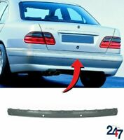 REAR BUMPER CENTER MOULDING TRIM WITH PDC HOLES COMPATIBLE WITH MB E W210 99-03