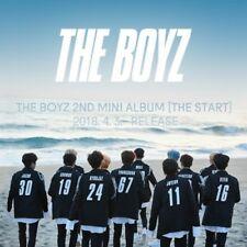 The Boyz-[The Start]2nd Mini Album Random Ver CD+Poster+Booklet+Card+etc+PreItem