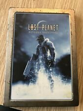 LOST PLANET EXTREME CONDITION COLLECTOR STEELBOOK XBOX 360 FRANÇAIS COMPLET