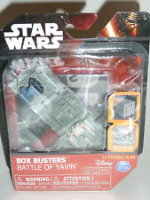 Star Wars Box Busters Battle Of Yavin Collectible Toy Set, Science Fiction. New!