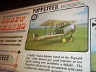 """FLAIR """"PUPPETEER"""" BEAUTIFUL WW1 REMOTE CONTROL MODEL AIRPLANE KIT NEW IN BOX"""