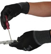 Gants de protection de travail noires pour bricolage