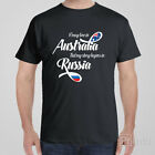 Funny T-shirt I MAY LIVE IN AUSTRALIA BUT MY STORY BEGINS IN RUSSIA Putin USSR