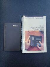 Hewlett Packard HP-18C Calculator Business Consultant & Manual