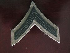 USMC Enlised Male PFC Green Embroidered on Khaki Semfer Fi - Comes as a pair