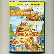 Open Season 1 2 3 PG animated comedy family movies, new DVDs, Martin Lawrence