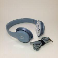 Beats Solo Wired On-Ear Headphone Light Blue Working (Need Ear Foam)