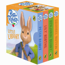 Peter Rabbit Animation Little Library 4 Board books Slipcase NEW
